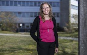Lund 200422 Kerstin Eriksson på Rise. Foto: André de Loisted