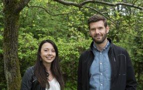 Anton Larsson och Maeva Badaire, Kollmorgen
