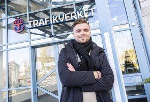 Oskar Grönberg Trafikverket Borlänge