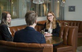 Viktoria Kemborn med kollegor, BDO