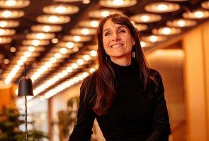 Ann-Christin Tumlin berättar om smarta IT-lösningar på Arbetsförmedlingen